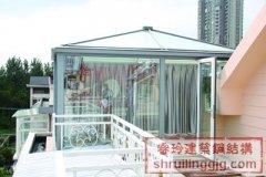 深圳钢结构阳光玻璃房